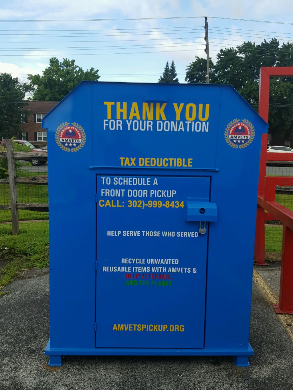 AMVETS Thrift Store and Drop Boxes locations here